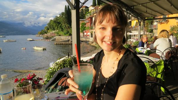 Eating In Varenna Italy