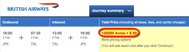 How To Fly To Europe With British Airways Avios Points
