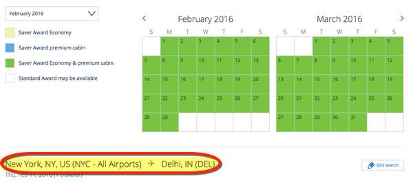 How To Fly To India With Chase Sapphire Preferred