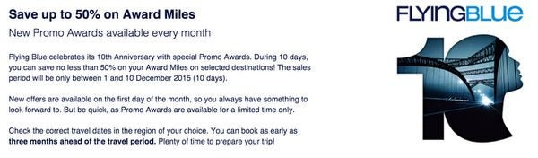 Pay 50 Fewer Miles On Coach Flights To Europe With Flying Blue Promo Awards