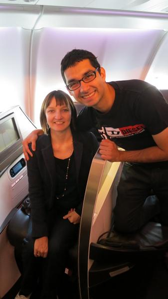 Our Anniversary to Italy: Part 28 – Virgin Atlantic Flight from Europe to US