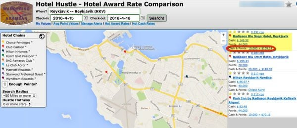 Find And Book Your Award Nights More Easily With Hotel Hustle