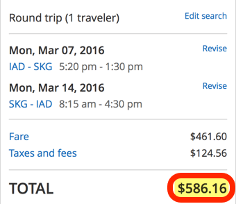 Today Only 586 Round Trip To Greece From 4 Cities
