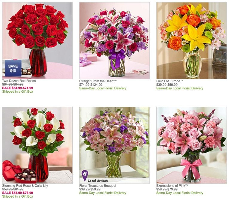 1800flowers.com Southwest