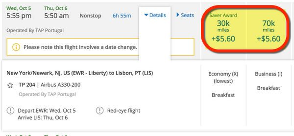 Great News For Award Flights To Europe Using Chase Ultimate Rewards Points