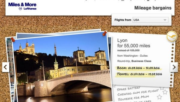 100,000 Lufthansa Miles With 2 Cards For Business Class To Europe Or 5 One Ways To Hawaii