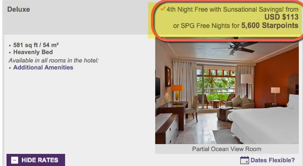 10 Night Award Stays Using Starwood Points No Money