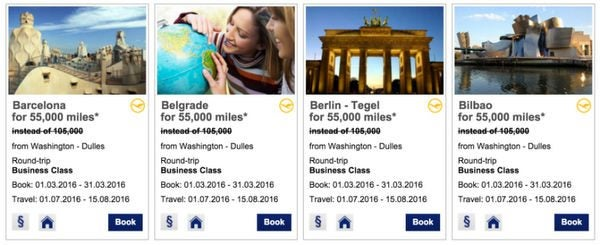 Lufthansa Card Bonus Boosted To 50,000 Miles Worth 2 Round Trip Flights On United Airlines