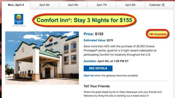 Save 50 Or More At Choice Hotels With Daily Getaways Travel Deals