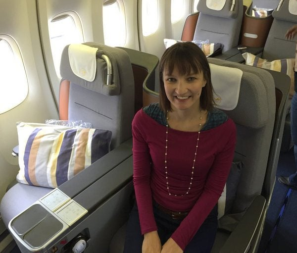 Emily's Video of Lufthansa's New First Class