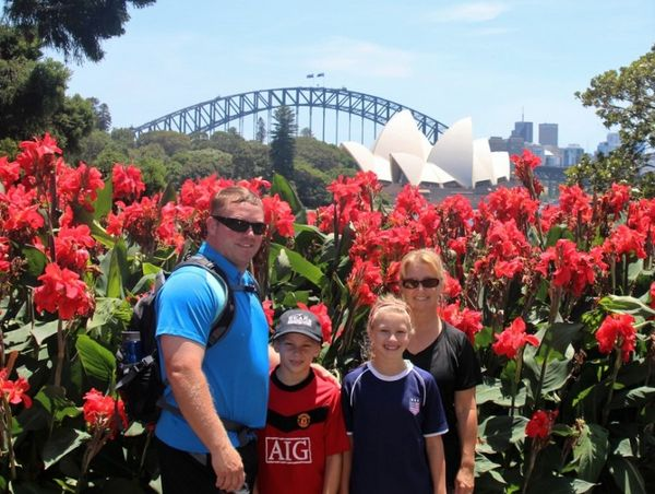 Success! A Family of 4 Got a Round-the-World Trip and a Free Month in Hotels With Miles & Points!