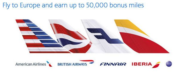 Earn Up to 50,000 American Airlines Bonus Miles on Flights to Europe!