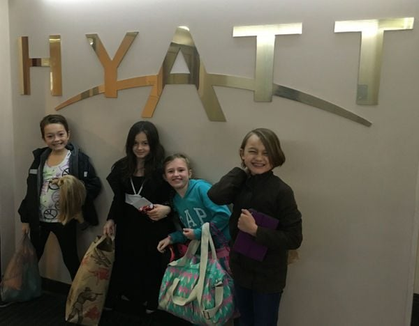 Family Travel Friday: Child's Birthday Party in a Hyatt Suite!