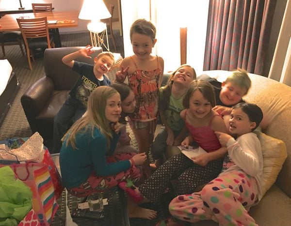 Family Travel Friday Childs Birthday Party In A Hyatt Suite