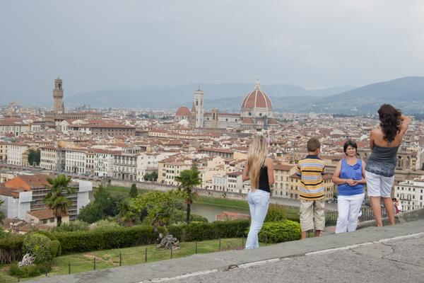 Family Travel: Use Miles to Visit Study Abroad Students in Europe