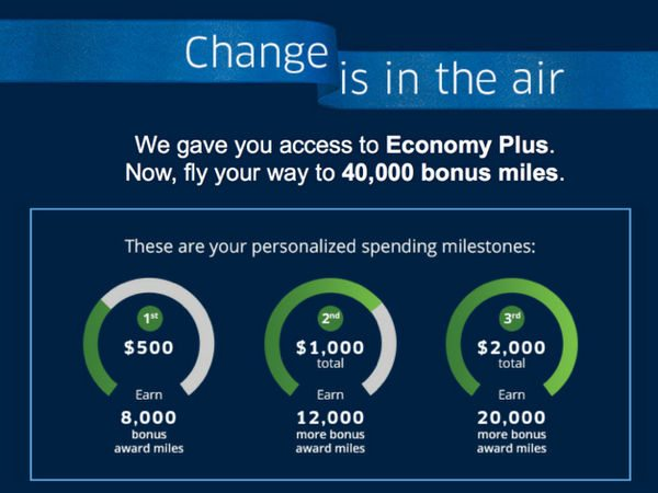 Folks Targeted to Earn 40,000 United Airlines Miles for $2,000, No Credit Pull