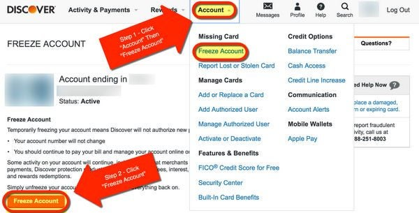 How To Freeze Spending On Your Card Control Authorized User Spending