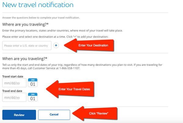 How Why To Notify Credit Cards When You Travel Abroad