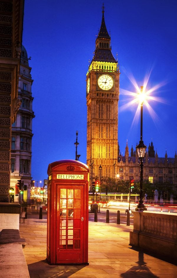 Hot! $590+ to London Non-Stop Round-Trip From Chicago, DC, New York
