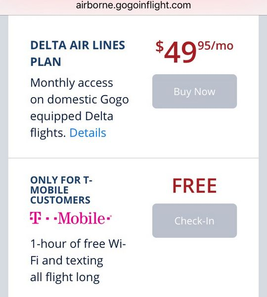Our Experience Using T-Mobile's Free In Flight Wi-Fi Overseas Texting And Data
