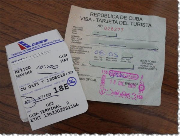 Viva Cuba Part 2 The Basics Visa Requirements