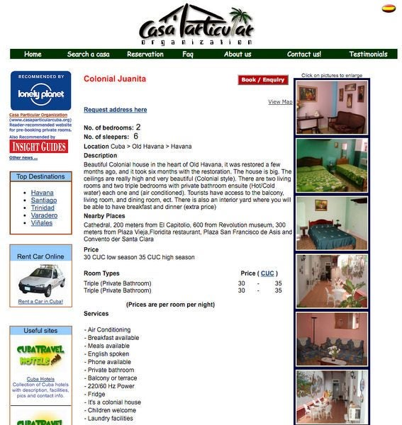 Viva Cuba Part 6 Where To Stay How To Book