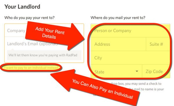 How To Pay Rent With A Credit Card Using RadPad