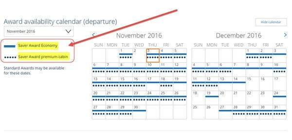 New United.com Award Calendar Design How To Navigate It