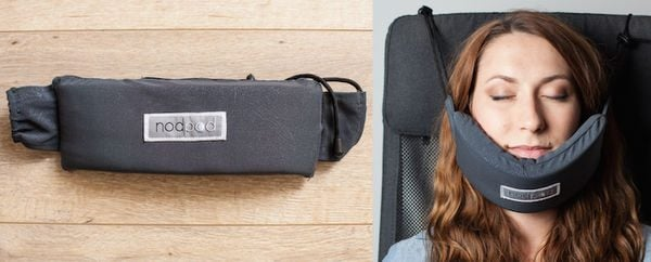 NodPod: A New Type of Travel Pillow So You Can Sleep Anywhere