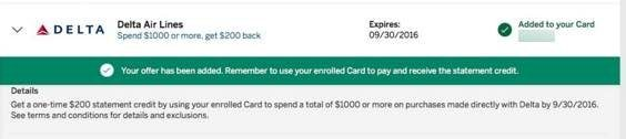 Targeted AMEX Offer: Save 20% Off a Delta Purchase