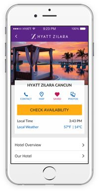 Earn 500 Bonus Hyatt Points When You Book With the Hyatt App