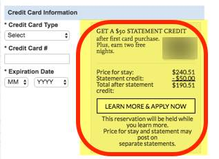 How to Get a $100 Statement Credit for the Chase Hyatt Credit Card