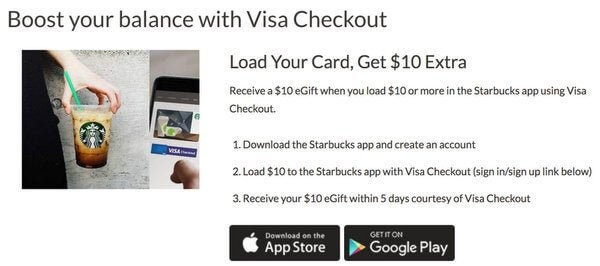 Starbucks App Discount
