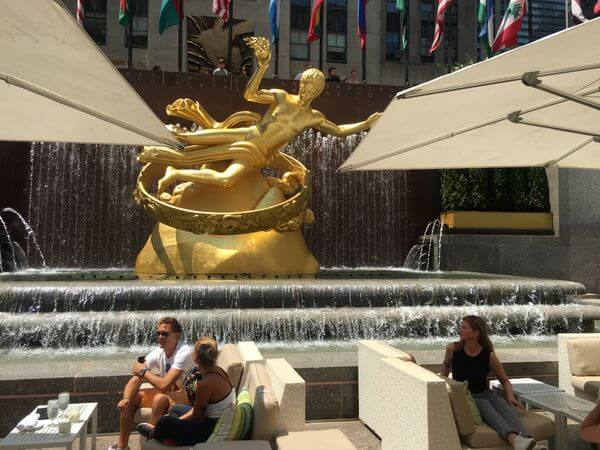 Visiting My Mom Sister In NYC Part 1 Airbnb Rockefeller Center