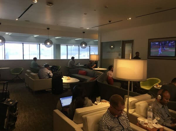 Review of AMEX Centurion Lounge in San Francisco