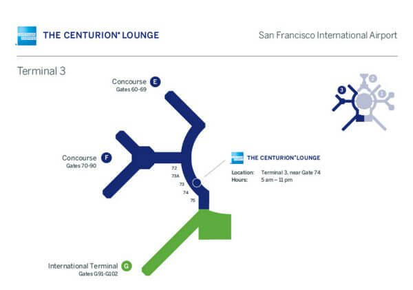 Centurion Lounge San Francisco