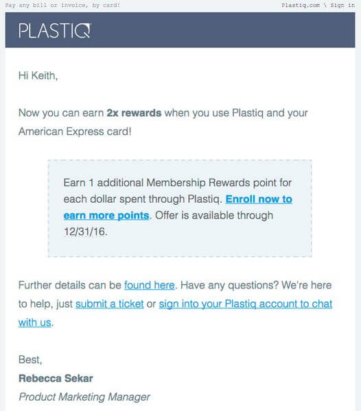 Earn 2X AMEX Membership Rewards Points With Plastiq