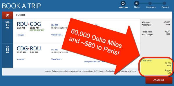 How To Use Delta Miles To Europe