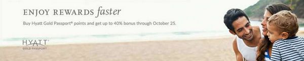 Limited Time Get Up To A 40 Bonus When You Purchase Hyatt Points