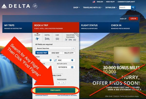 AMEX Delta Offers