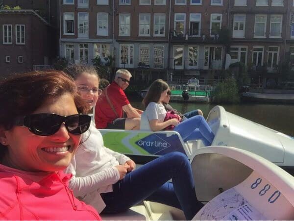 A Family Of 5 Met In Europe For A Family Vacation Thanks To Miles Points