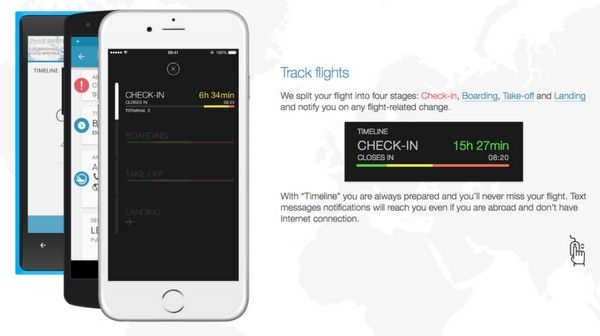 App in the Air: Track Your Past & Future Flights