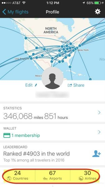 App in the Air: Track Your Past & Future Flights | Million Mile Secrets