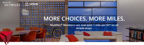 Now Earn Delta Miles With Airbnb Stays