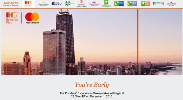 Earn Up To A 100 Gift Card After 2 Stays With IHGs Newest Promotion