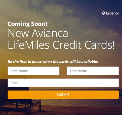 Two Cards Launching Soon 60000 Avianca Mile Card 80000 Point Chase Ink Business Preferred