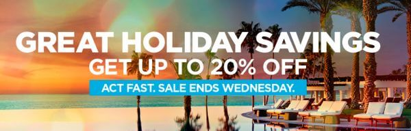 Act Fast!  Save Up to 20% on Hilton Stays Plus Earn 3X Hilton Points