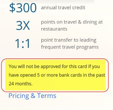 Chase Sapphire Reserve Approval Tips