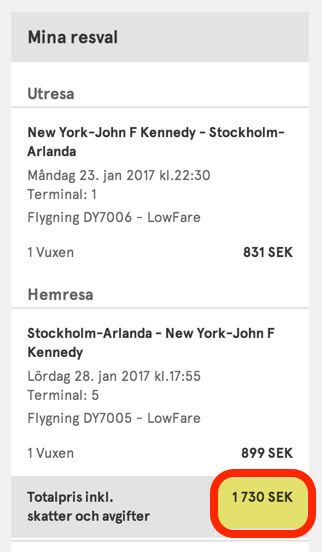 Crazy Cheap 191 Round Trip New York To Stockholm On Norwegian Air