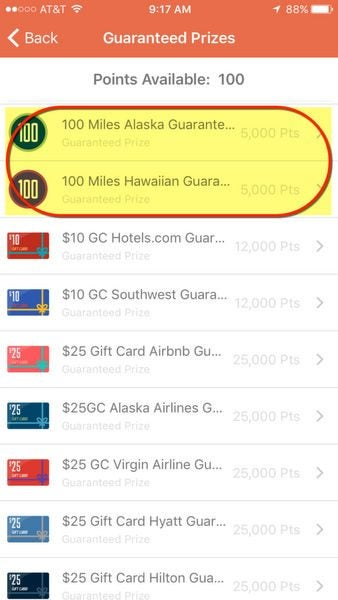 Frequent Flyer App